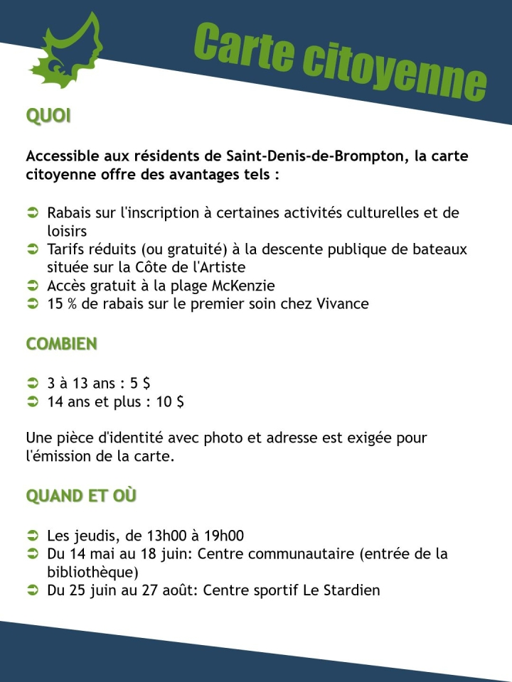 CARTE CITOYENNE - �MISSION